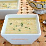 Greek chicken soup Avgolemono