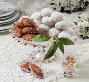 Kourabiethes Sugar cookies