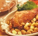 Leg of Lamb with potatoes